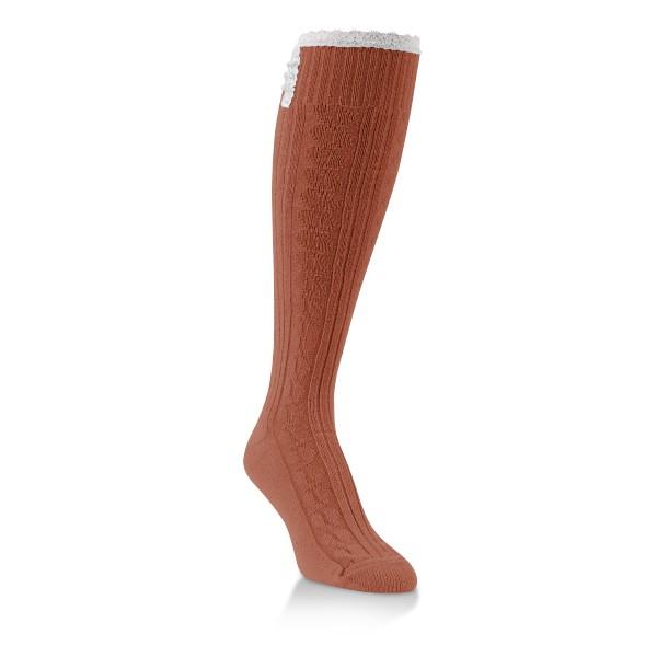 World's Softest Socks Flirty Knee High- Picante 832 main image