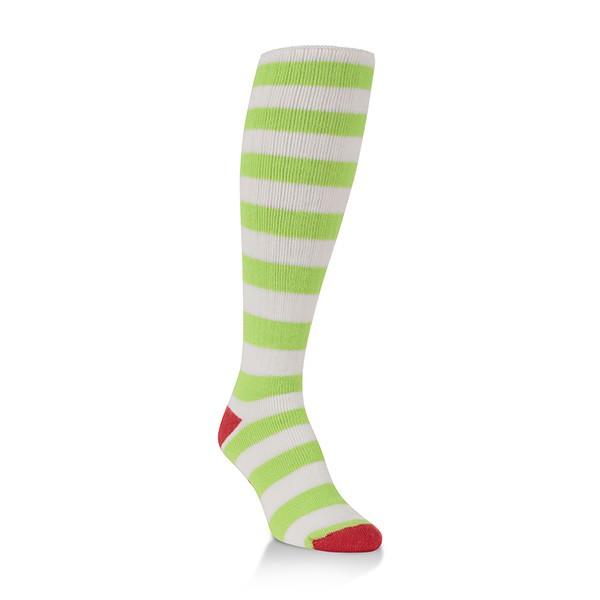 World's Softest Socks Classic Over-The- Calf-Holiday (Elf Stripe) 317 main image