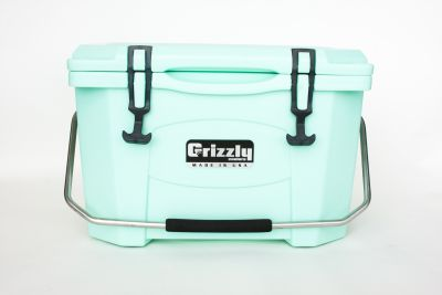 Grizzly 20 Quart Cooler - Seafoam