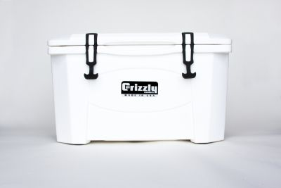 Grizzly 40 Quart Cooler - White