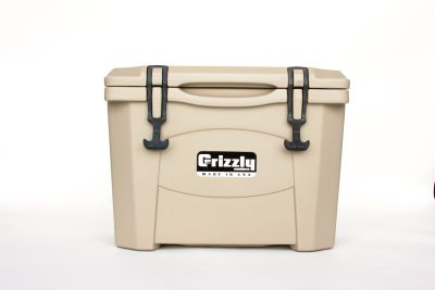 Grizzly 15 Quart Cooler – Tan/Tan