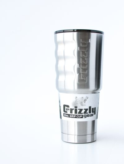 Grizzly 32 Oz. GG Cup – Stainless Steel