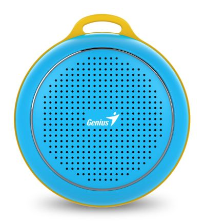 Genius Outdoor Portable Bluetooth Speaker (Blue) SP-906BTBlue - Image 1: Main