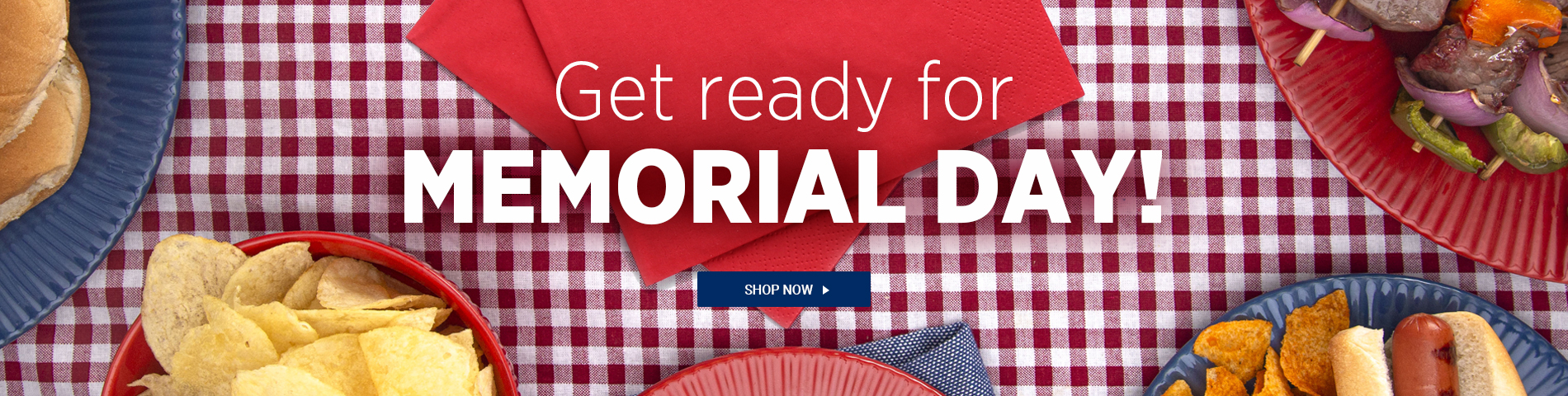 Get Ready for Memorial Day