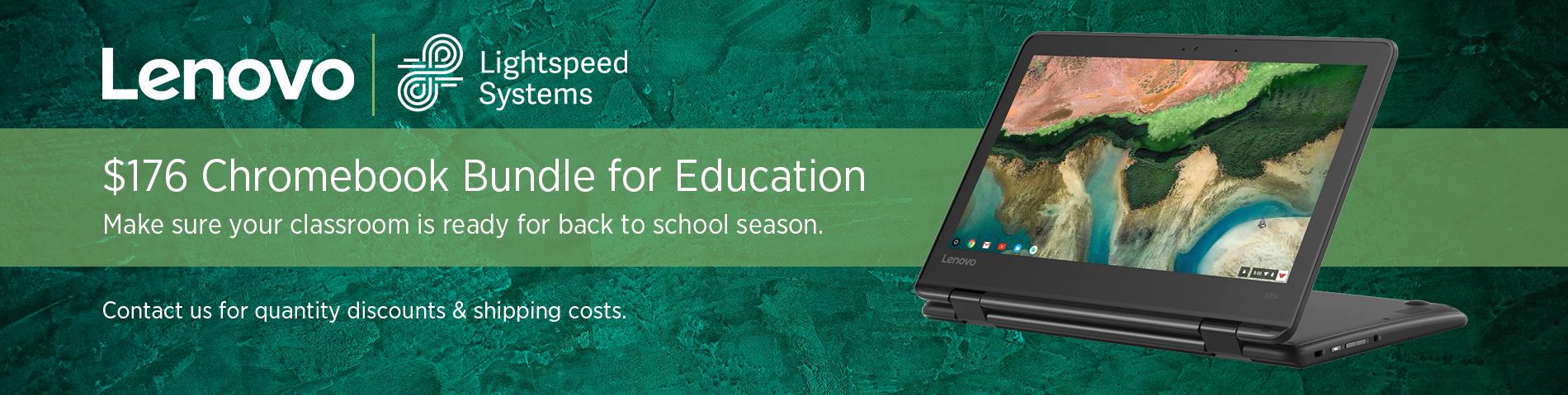 Chromebook Bundle for Education