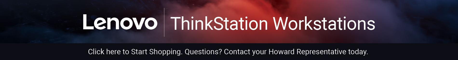 Lenovo ThinkStation Workstations - Start Shopping