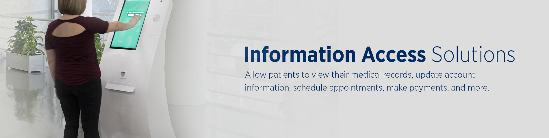 Patient Check In Banner