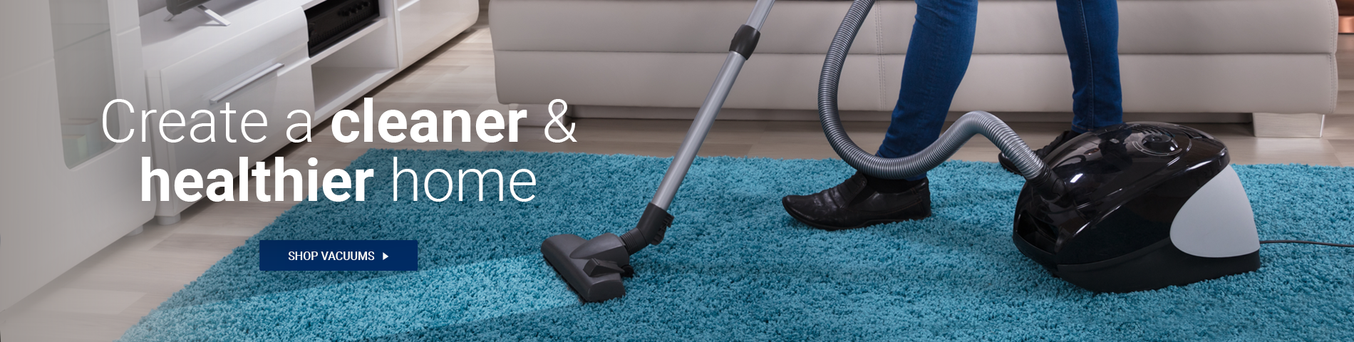 Create a Cleaner & Healthier Home - Shop Vacuums