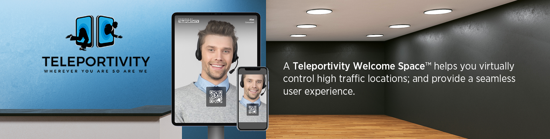 Teleportivity Welcome Space™ by Liberty AV