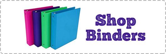 Shop Binders