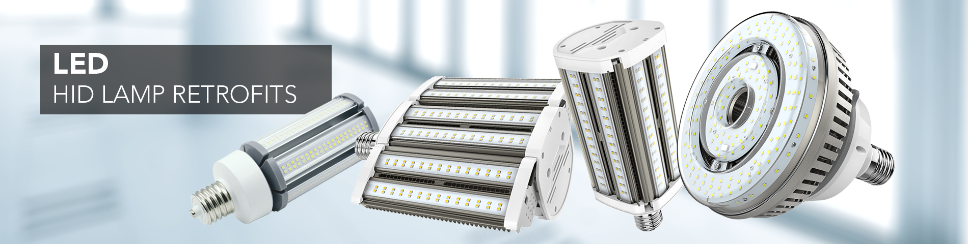 LED Lamp Retrofit Banner