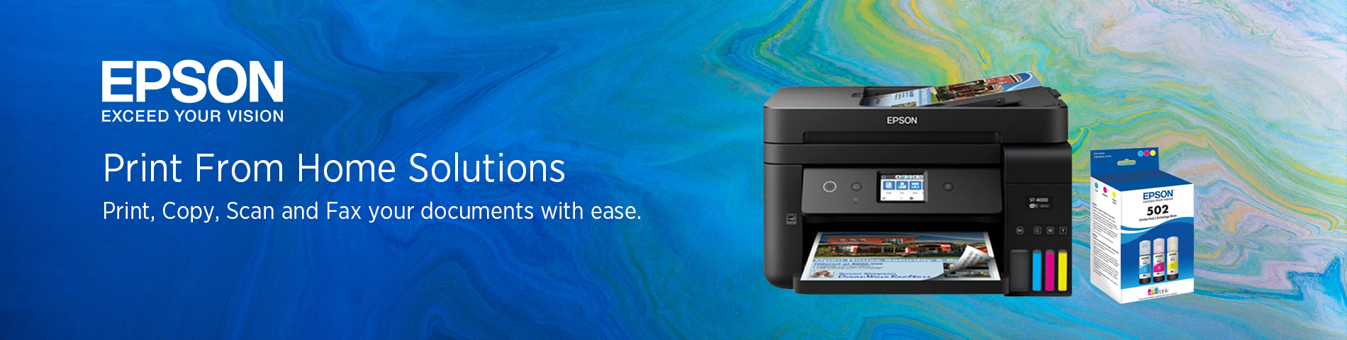 Epson From Home Printing Solutions