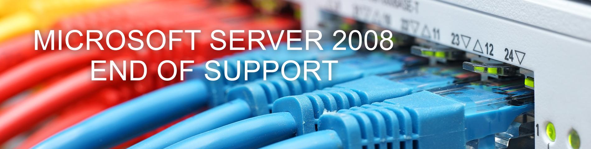 Server EOL banner