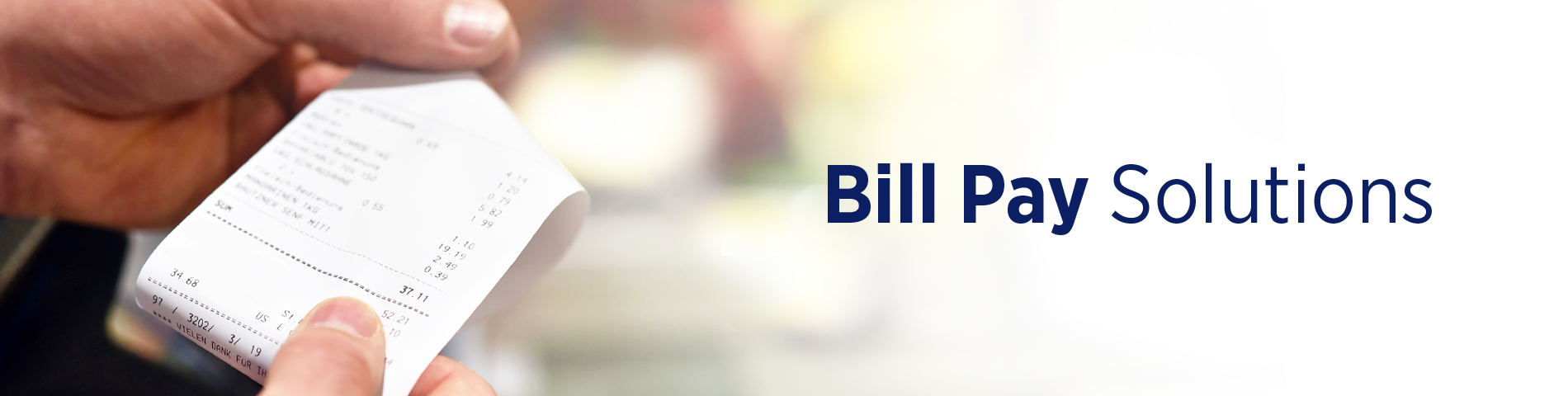 Utility Bill Payment Kiosks