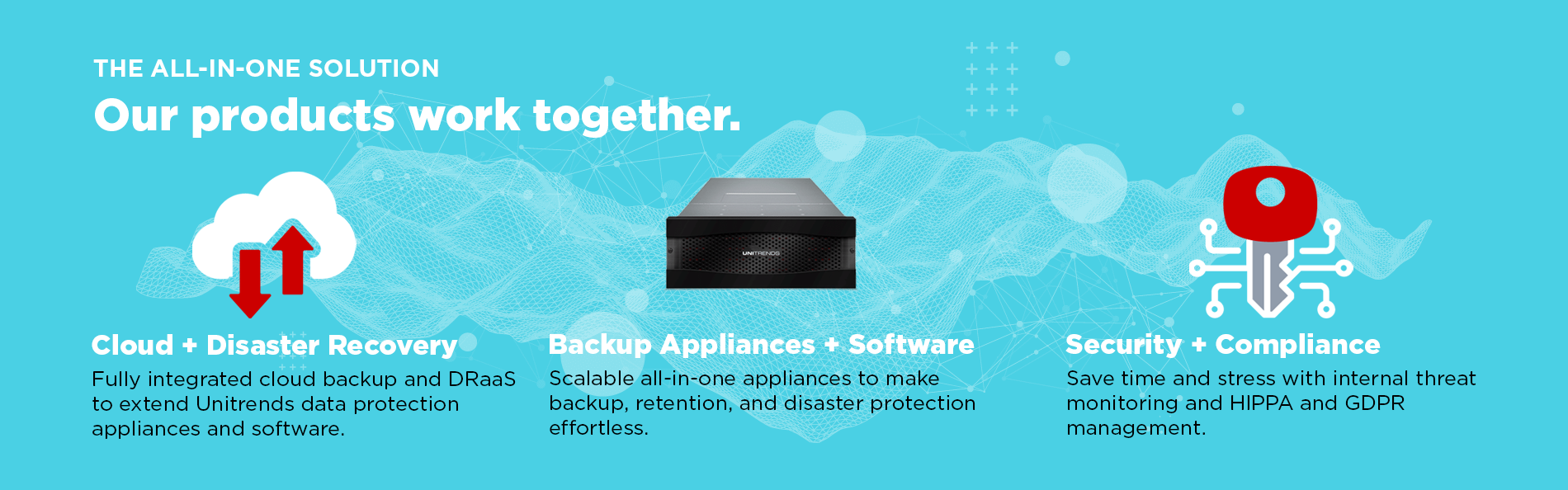 The all-in-one Solution - Our products work together.