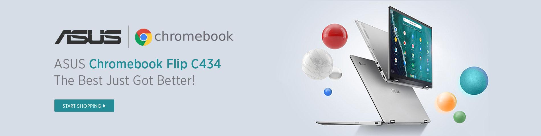 Asus C434 Flip Chromebook