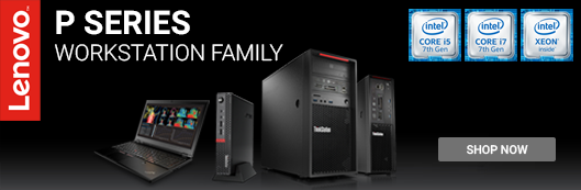Lenovo Workstation Promo