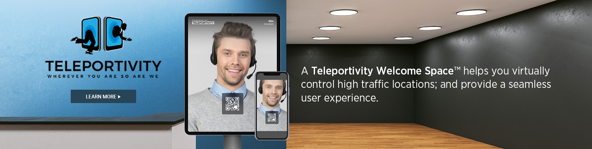 Teleportivity Welcome Space™