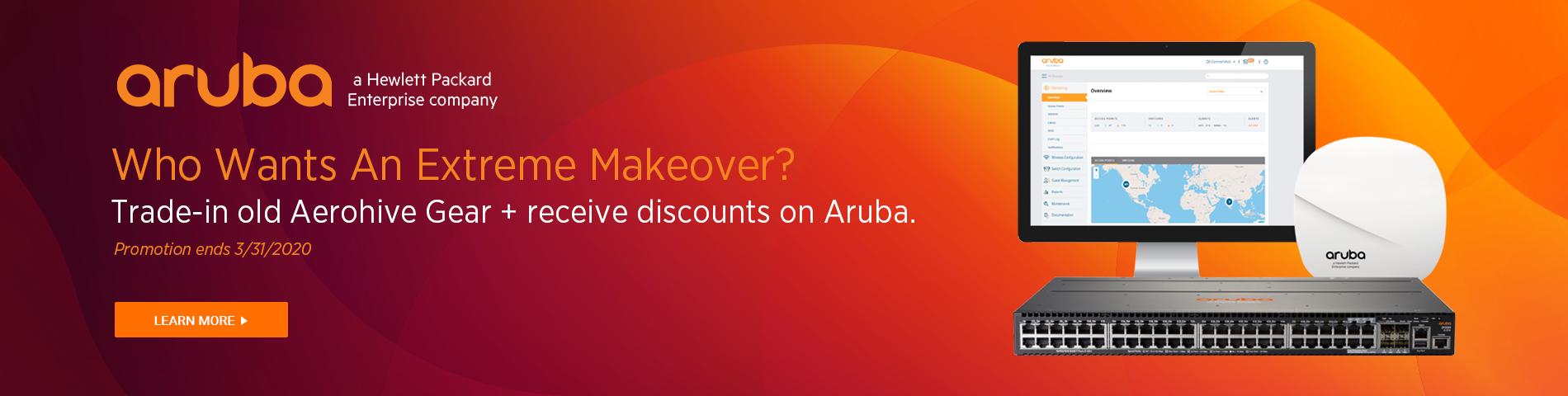 Aruba Trade-In Promo