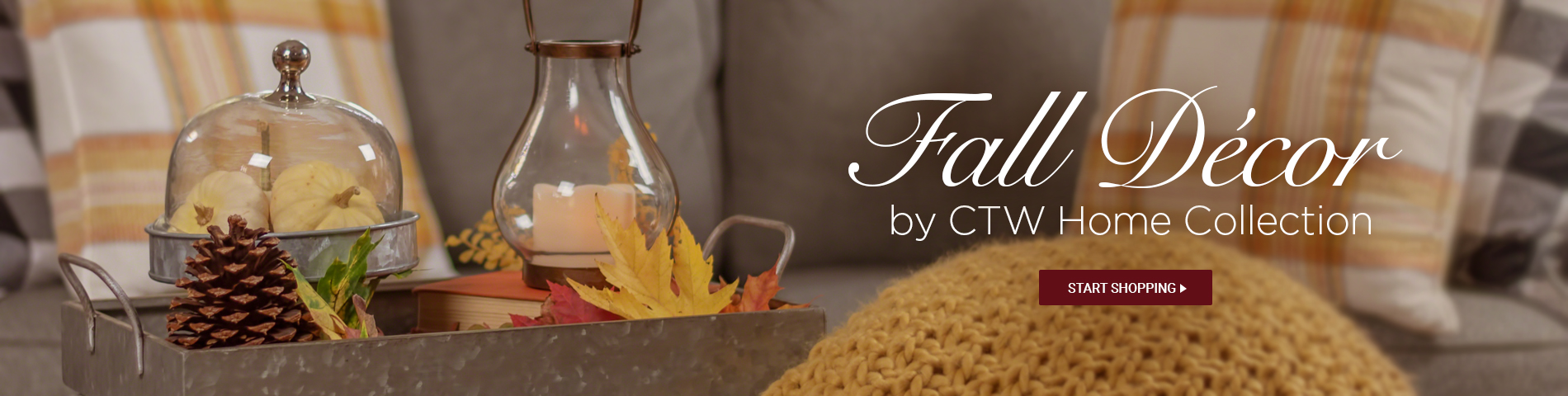 Fall Decor by CTW Home Collection