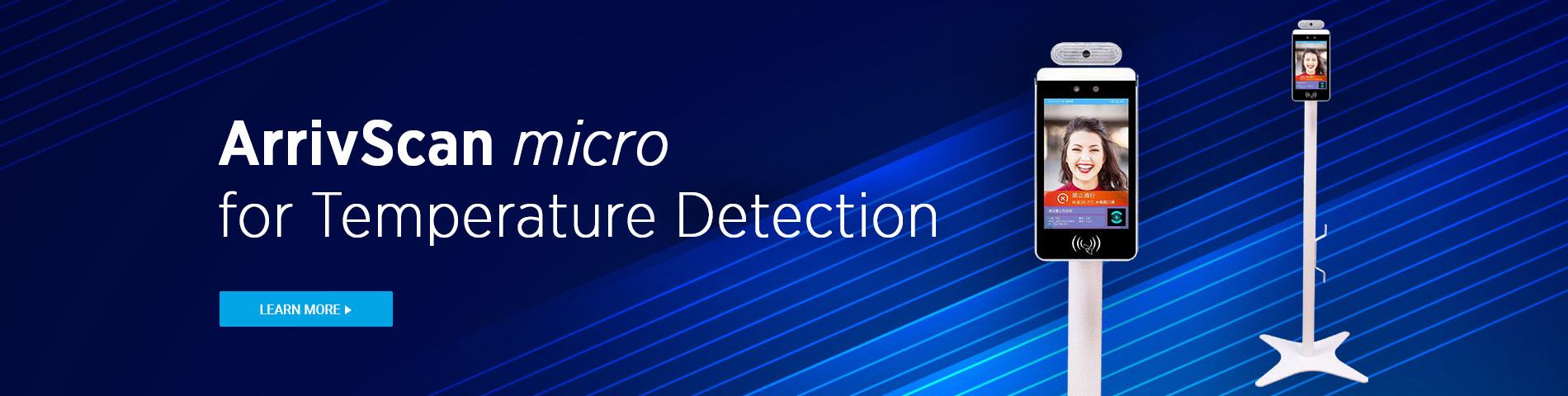 Howard ArrivScan Micro Temperature Sensing Kiosk