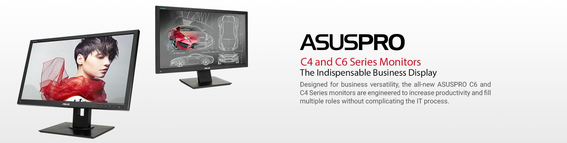 Asus C4 & C6 Monitors