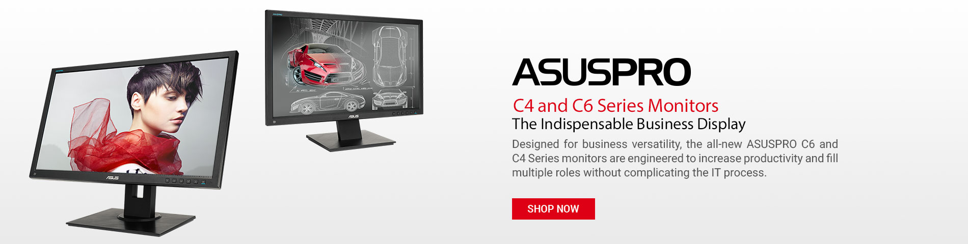 ASUSPRO C4 and C6 Monitors