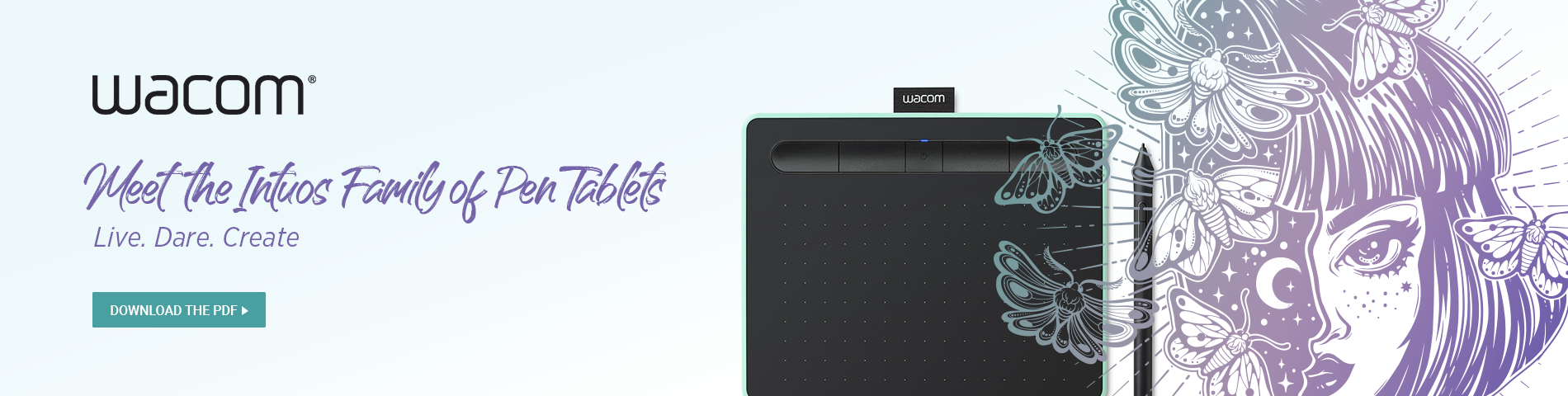 Wacom Intuos Family of Pen Tablets