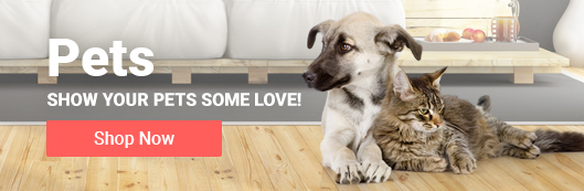 Show your pets some love! Shop Pet Supplies