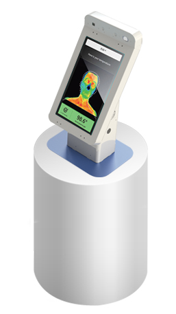 Howard RevScan Flash Tabletop Temperature Sensing Kiosk