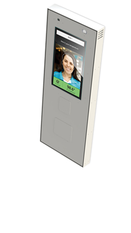 Howard RevScan Flare Wall-Mount Temperature Sensing Kiosk