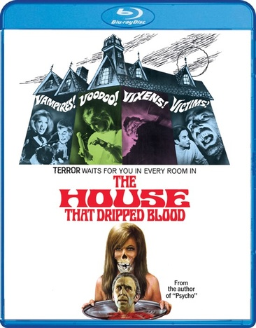 HOUSE THAT DRIPPED BLOOD (BLU-RAY)