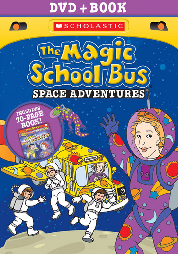 MAGIC SCHOOL BUS-SPACE ADVENTURES DVD W/BOOK