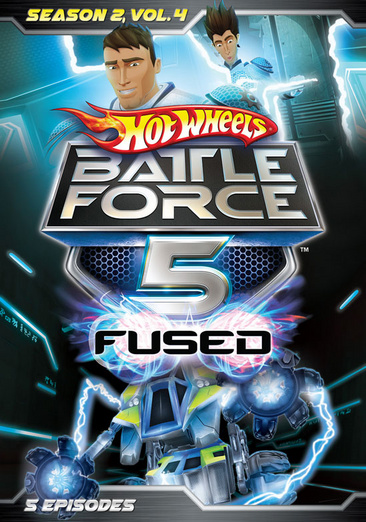 HOT WHEELS BATTLE FORCE 5-SEASON 2 VOLUME 4 (DVD)