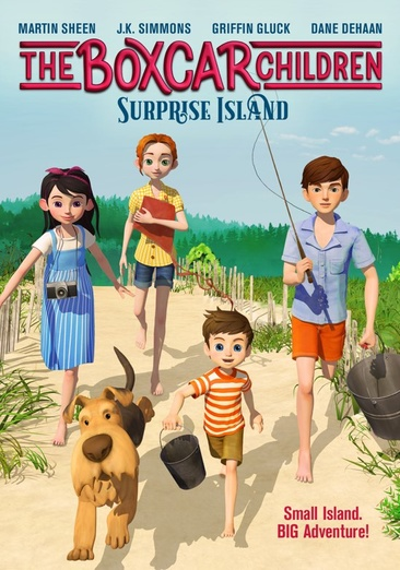 BOXCAR CHILDREN-SURPRISE ISLAND (DVD)