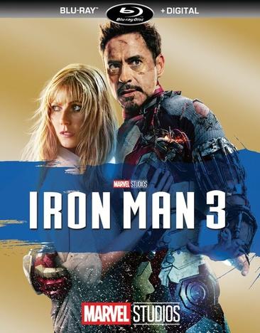 IRON MAN 3 (BLU-RAY/DIGITAL HD/RE-PKGD)