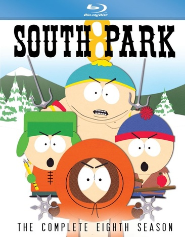 SOUTH PARK-COMPLETE EIGHTH SEASON (BLU RAY) (2DISCS/WS)