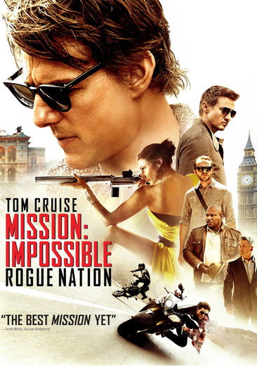 MISSION IMPOSSIBLE-ROGUE NATION (DVD)