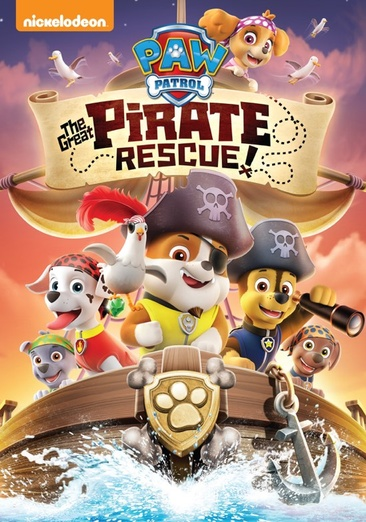 PAW PATROL-GREAT PIRATE RESCUE (DVD)