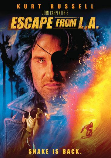 ESCAPE FROM LA (DVD/JOHN CARPENTER) (WS)
