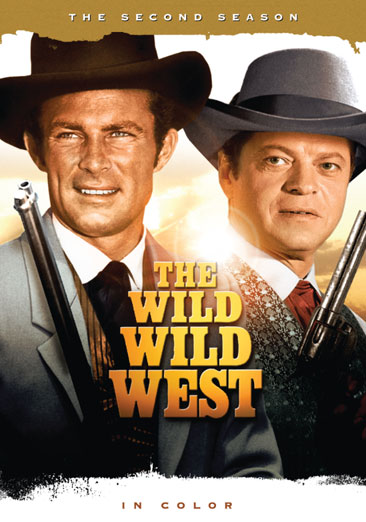 WILD WILD WEST-2ND SEASON COMPLETE (DVD/7 DISCS)