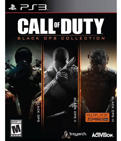 CALL OF DUTY:BLACK OPS COLLECTION (BLACK OPS 1/2/3)