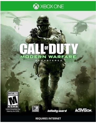 CALL OF DUTY:MODERN WARFARE REMASTERED