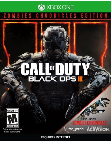 CALL OF DUTY:BLACK OPS 3 ZOMBIE CHRONICLES ED