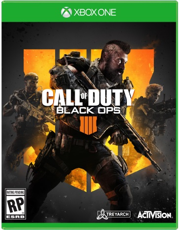 CALL OF DUTY:BLACK OPS 4 (NEW RELEASE)