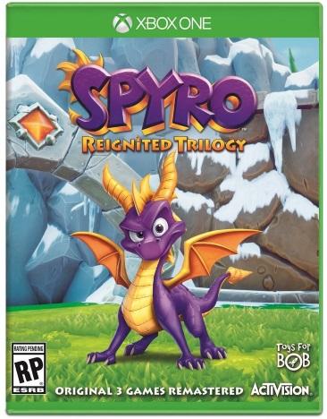 SPYRO REIGNITED TRILOGY (SPYRO/SPYRO 2/YEAR OF THE DRAGON) (NEW RELEASE)