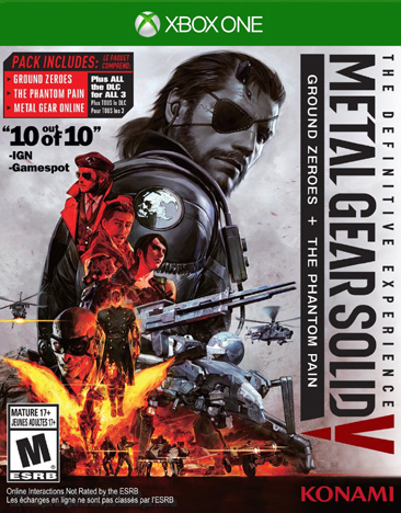 METAL GEAR SOLID V:DEFINITIVE EXPERIENCE