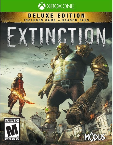 EXTINCTION DELUXE EDITION(INCLUDES 3 DLC MISSION PACKS)
