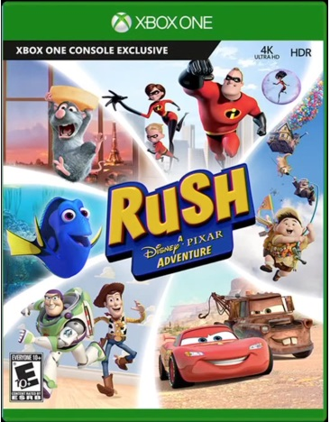 RUSH:DISNEY ADVENTURE