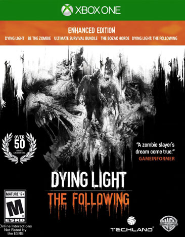 DYING LIGHT:FOLLOWING ENHANCED EDITION
